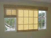 Бамбуковые шторы,  бамбуковые жалюзи на окна