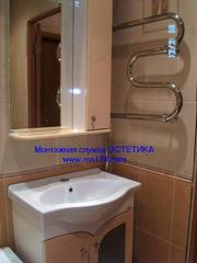 Ремонт ванной комнаты,  все сантехнические работы и отделка от А до Я