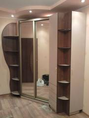 Корпусные и встроенные шкафы-купе,  прихожие и др. мебель на заказ