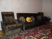 Диван с двумя креслами + подушки