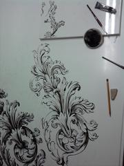 роспись мебели и интерьера