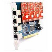 Allvoip аналоговая плата на 4 порта для IP АТС