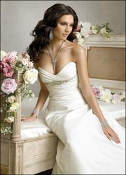 Новое элегантное свадебное платье