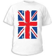 интернет магазин купить майку британский флаг, заказать футболку через...