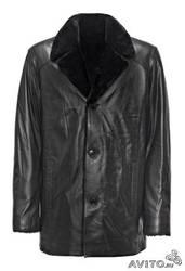 продам кожанную куртку на меху