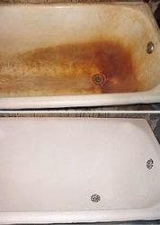 Эмалировка (акриловое покрытие )ванн.