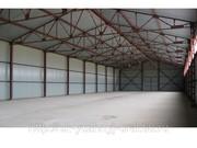 Строительство металлических ангаров и складов.