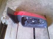 Правое зеркало на OPEL ASTRA H,  красного цвета,  без аналога