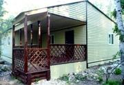 Строительство садовых домиков,  дачных вагончиков,  домики для базы отды