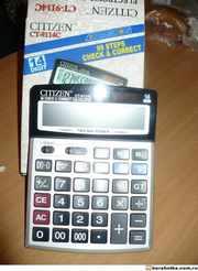 Калькуляторы Citizen SDC-64011 и Citizen CT-9114C.