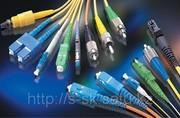 Монтаж волоконно-оптических линий связи,  организация локальной сети