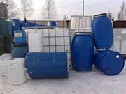Продам бочки металлические,  еврокубы,  бочки ПЭТ / б/у., банки метал.