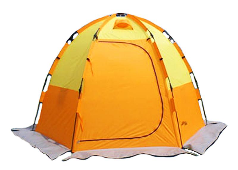 Как сделать зимнюю палатку для охоты