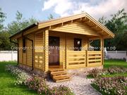 Садовые домики,  дачные дома - быстро,  красиво,  недорого