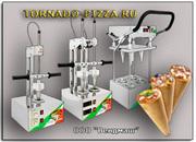 Уникальное оборудование TORNADO для приготовления пиццы в конусе!