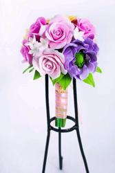 Цветочные украшения из полимерной глины