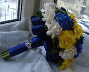 Создание Свадебных аксессуаров и букетов для невесты