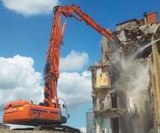 Снос зданий и сооружений. Демонтаж металлоконструкций.