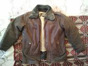 Кожаная куртка (зима-осень)