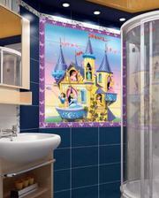 Керамические фотопанно для ванной комнаты