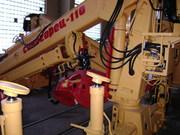 Гидроманипулятор Синегорец-110 с грейфером для леса