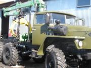 Продам Урал Лесовозный автопоезд с Атлант-90