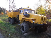 Урал 4320,  2004г.,  КДМ Тройка 2000,  самосвал,  зимне-летний вариант