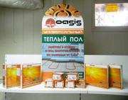 Универсальный кабельный теплый пол OASIS (ПОЖИЗНЕННАЯ ГАРАНТИЯ)