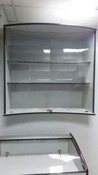 оригинальное торгововое оборудование (БУ) с гнутым стеклом,