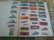 продам коллекцию марок 250штук.разных тем.