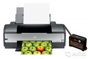 Продам принтер Epson Stylus Photo 1410 + снпч