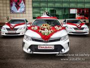 Свадебный кортеж из машин Тойота Камри