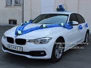 Аренда белая БМВ 330 на свадьбу