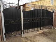 Изготовление и монтаж кованых ворот на заказ