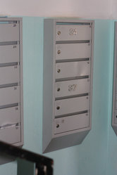 Почтовые ящики для узких подъездов,  6 секций