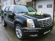 Заказ Cadillac Escalade на свадьбу