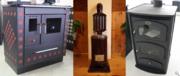 Отопительно-варочные печи и печи-камины с духовым шкафом на дровах