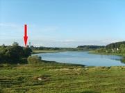 Кирпично-щитовой дом на берегу озера. Беларусь