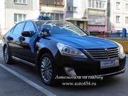 Автопрокат Челябинск,  Hyundai Equus с водителем