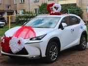 Прокат автомобиля Lexus NX к свадьбе