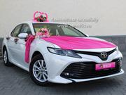 Прокат свадебных автомобилей Челябинск,  Toyota Camry XV70 New