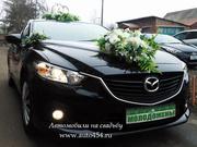 Черная Mazda 6 на свадьбу в Челябинске