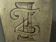 Ложка с фамильным гербом.