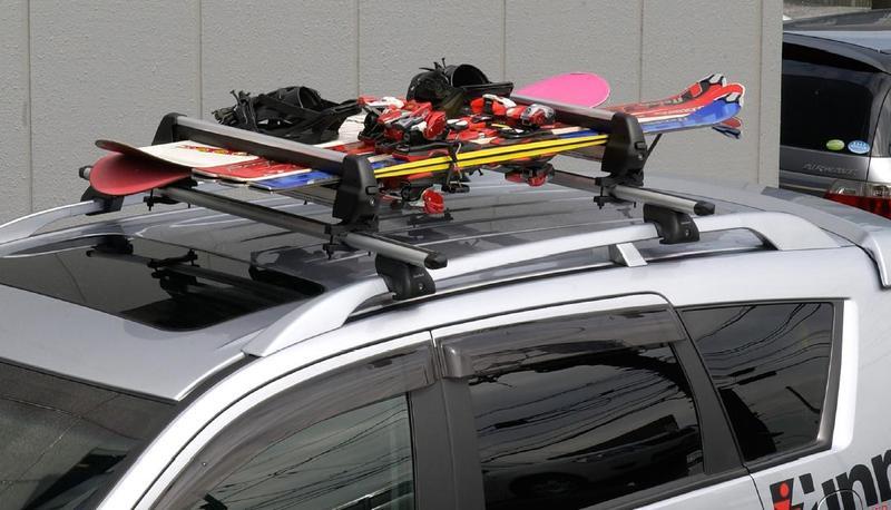 Продам багажник для транспортировки лыж и сноубордов.